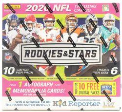 2020 FOOTBALL -  ROOKIES AND STARS (P10/B6)