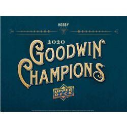 2020 GOODWIN CHAMPIONS -  UPPER DECK GOODWIN CHAMPIONS - HOBBY (P5/B20/C8)