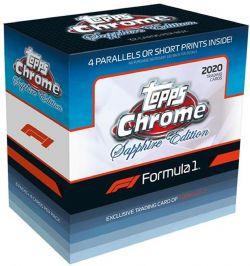 2020 NASCAR -  TOPPS CHROME FORMULA 1 SAPPHIRE EDITION - HOBBY BOX