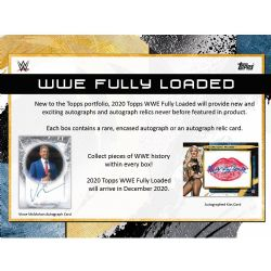 2020 WWE -  FULLY LOADED (B1)