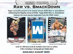 2020 WWE -  TOPPS RAW VS SMACKDOWN (P7/B24/C8)