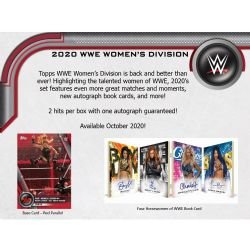 2020 WWE -  TOPPS WOMEN'S DIVISION