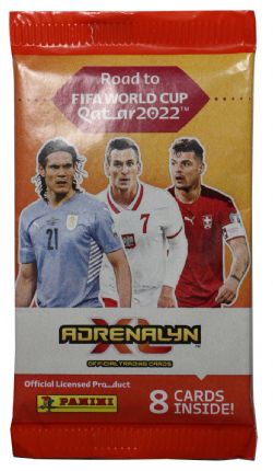 2021-22 SOCCER -  ADRENALYN XL ROAD TO WORLD CUP CARDS – BOX (24 PACKS PER BOX) (8 CARDS PER PACK) (TOTAL OF 192 CARDS)