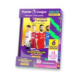 2021-22 SOCCER -  PANINI PREMIER LEAGUE ADRENALYN XL CARDS – MINI TIN (36 CARDS + EMILE SMITH ROWE 3D LENTICULAR LE CARD)