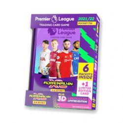 2021-22 SOCCER -  PANINI PREMIER LEAGUE ADRENALYN XL CARDS – MINI TIN (36 CARDS + LE CARD) (CASE PACK OF 12)