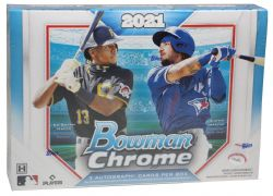 2021 BASEBALL -  BOWMAN CHROME - HTA CHOICE BOX
