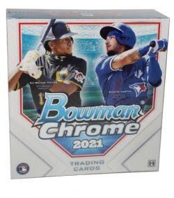 2021 BASEBALL -  BOWMAN CHROME - LITE HOBBY BOX