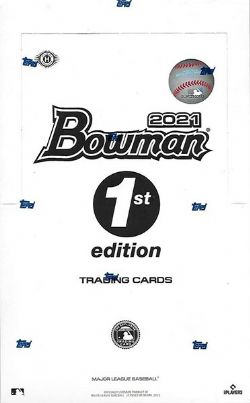 2021 BASEBALL -  BOWMAN HOBBY 1ST EDITION