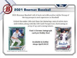 2021 BASEBALL -  BOWMAN HOBBY (P10/B24)
