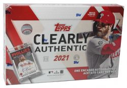 2021 BASEBALL -  TOPPS CLEARLY AUTHENTIC (B1)