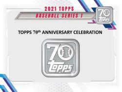 2021 BASEBALL -  TOPPS SERIES 1 - JUMBO ***LIMIT OF TEN (10) PACK OR ONE (1) BOX PER CUSTOMER***