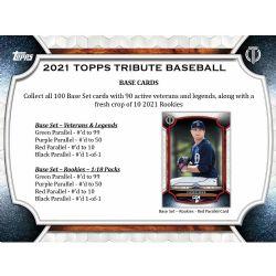 2021 BASEBALL -  TOPPS TRIBUTE (P3/B6)