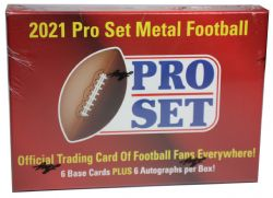 2021 FOOTBALL -  LEAF PRO SET METAL