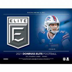 2021 FOOTBALL -  PANINI DONRUSS ELITE - HOBBY BOX (P5/B20)