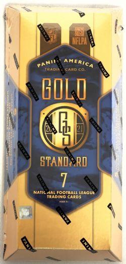 2021 FOOTBALL -  PANINI GOLD STANDARD - HOBBY BOX