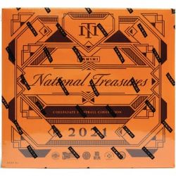 2021 FOOTBALL -  PANINI NATIONAL TREASURES COLLEGIATE - HOBBY BOX