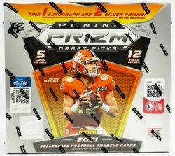 2021 FOOTBALL -  PANINI PRIZM DRAFT PICKS - H2 HOBBY HYBRID BOX