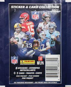 2021 FOOTBALL -  PANINI STICKERS NFL (P5/B50)
