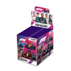 2021 FORMULA 1 -  TOPPS STICKERS PACKS (50 PACKS PER BOX) (10 STICKERS PER PACK) (TOTAL OF 500 STICKERS)