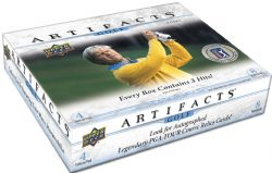 2021 GOLF -  UD ARTIFACTS HOBBY (P4/B8/C10) ***BOX ONLY***