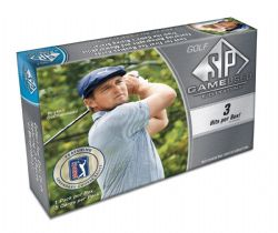 2021 GOLF -  UPPER DECK SP GAME USED - HOBBY BOX