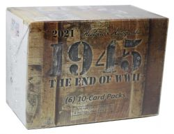2021 HISTORIC AUTOGRAPHS -  1945 THE END OF WWII BLASTER