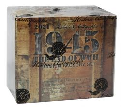 2021 HISTORIC AUTOGRAPHS -  1945 THE END OF WWII FACTORY SET