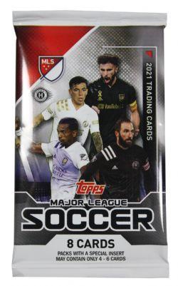 2021 SOCCER -  TOPPS MAJOR LEAGUE SOCCER (MLS) - HOBBY (P8/B24)