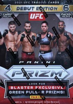 2021 UFC -  PANINI PRIZM - 6-PACK BLASTER BOX