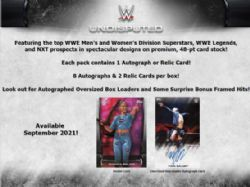 2021 WWE -  TOPPS UNDISPUTED