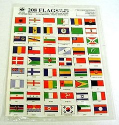 208 WORLD FLAGS