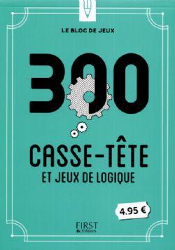 300 -  CASSE-TÊTE ET JEUX DE LOGIQUE