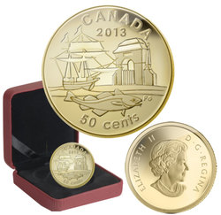 300TH ANNIVERSARY OF LOUISBOURG -  2013 CANADIAN COINS
