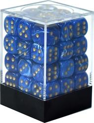 36D6, 12MM, BLUE WITH GOLD -  VORTEX