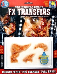 3D FX TRANSFERS -  BURNED FLESH