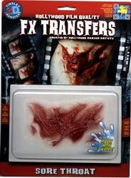 3D FX TRANSFERS -  SORE THROAT