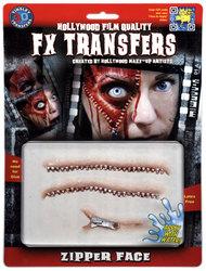 3D FX TRANSFERS -  ZIPPER