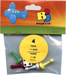 4 PEGS + 1 DICE PACK