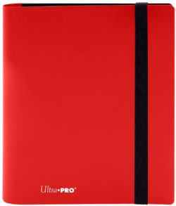 4-POCKET PORTFOLIO -  PRO-BINDER - 160 - APPLE RED
