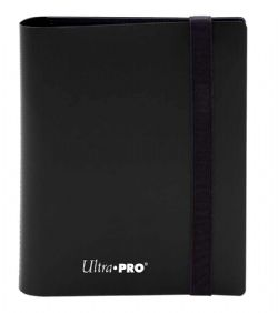 4-POCKET PORTFOLIO -  PRO-BINDER - 160 - JET BLACK