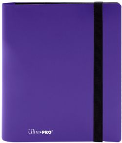 4-POCKET PORTFOLIO -  PRO-BINDER - 160 - ROYAL PURPLE