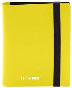 4-POCKET PORTFOLIO -  PRO-BINDER - 80 - LEMON YELLOW