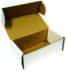 400 COUNT CARDBOARD BOX (7.5 INCHES)