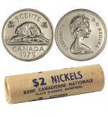 5-CENT -  1979 5-CENT ORIGINAL ROLL -  1979 CANADIAN COINS
