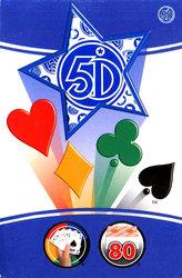 5 DIMENSION -  5TH DIMENSION BLUE (80 CARDS)