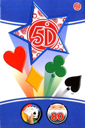 5 DIMENSION -  5TH DIMENSION RED (80 CARDS)