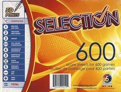 5 DIMENSION -  5TH DIMENSION - SCORE SHEETS FOR 600 GAMES