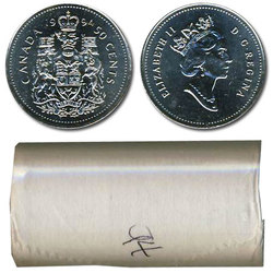 50-CENT -  1994 50-CENT ORIGINAL ROLL -  1994 CANADIAN COINS