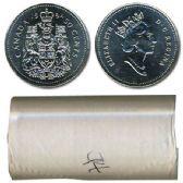 50-CENT -  1994 50-CENT ORIGINAL ROLL -  1994 CANADIAN COINS