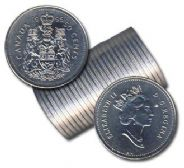 50-CENT -  1995 50-CENT ORIGINAL ROLL -  1995 CANADIAN COINS